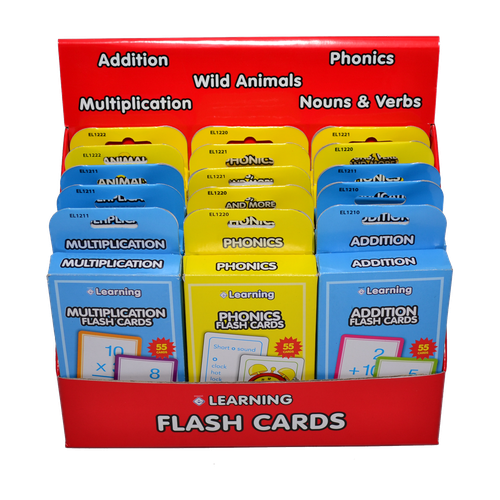 EL1200 - Flash Card Display Image