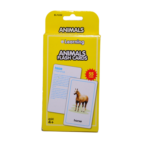 EL1222 - Animals - Flash Card Image