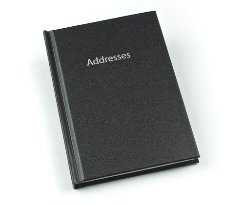 EL357 - Addresses/Internet Addresses Flip over book Image
