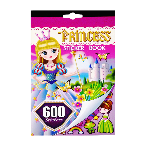 EL5020 - Princess Sticker Book Image