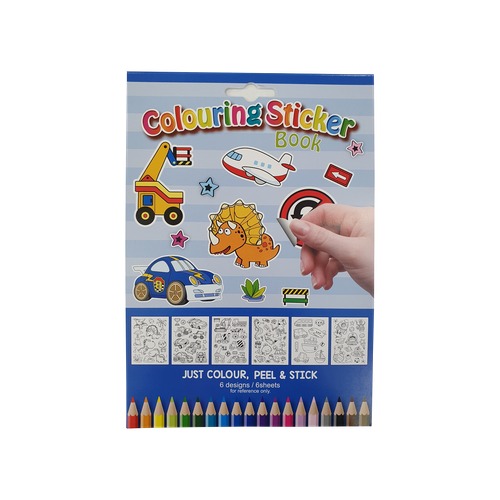 EL5030 - Sticker Activity Book Assortment Image
