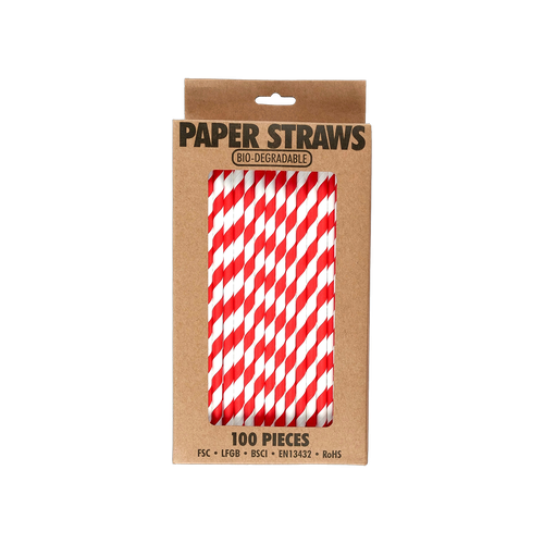 EL520 - Bio-degradable Paper Straws Image