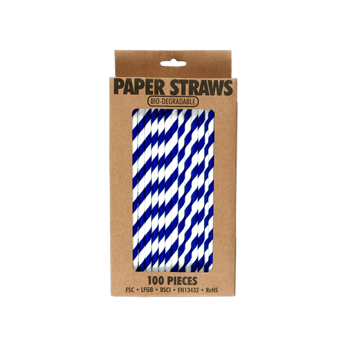 EL521 - Bio-degradable Paper Straws Image
