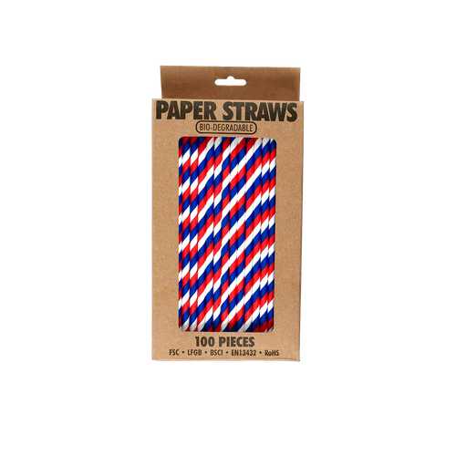 EL522 - Bio-degradable Paper Straws Image