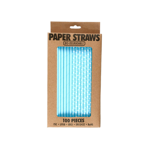 EL525 - Bio-degradable Paper Straws Image