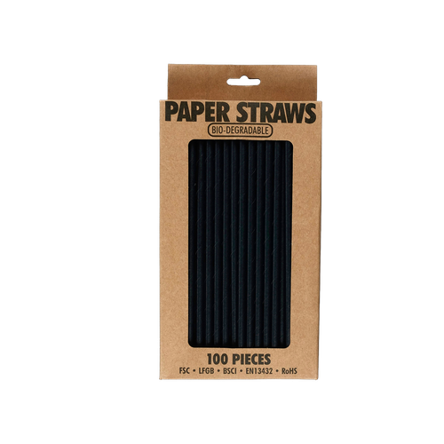 EL527 - Bio-degradable Paper Straws Image
