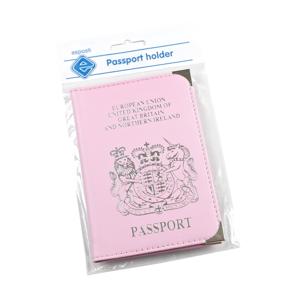 EL114P Passport Holder with Crest Image
