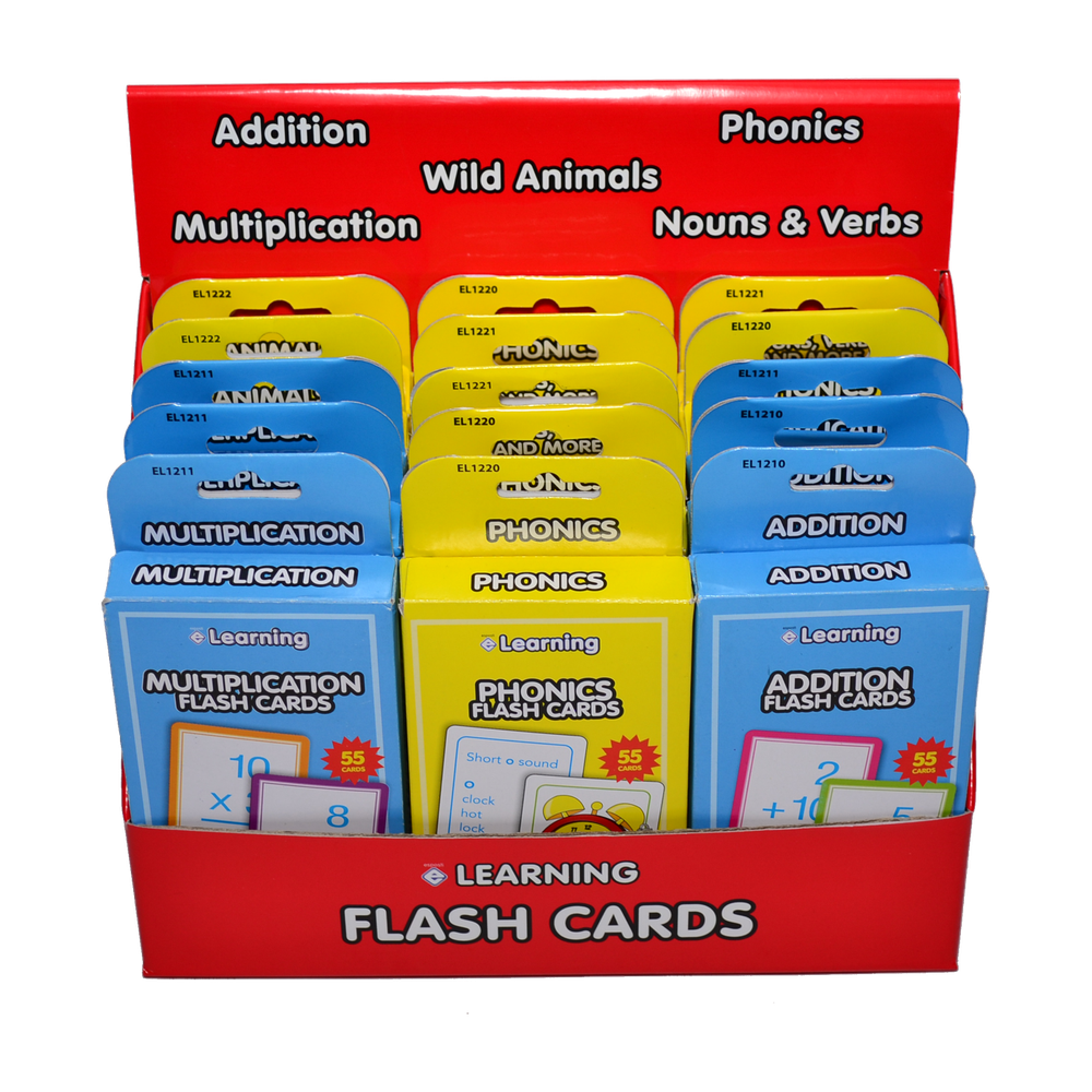 EL1200 Flash Card Display Image